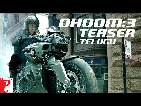 Dhoom:3 Teaser - TELUGU - Aamir Khan | Abhishek Bachchan | Katrina Kaif | Uday Chopra