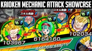 KAIOKEN MECHANIC SHOWCASE (100% TEQ BULLA) Dragon Ball Z Dokkan Battle
