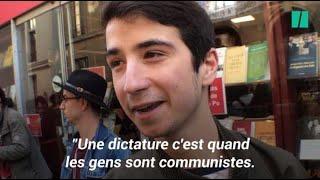 """""""Dictature macronienne"""", cet étudiant cite """"OSS 117"""" pour protester contre le blocage de Sciences Po"""