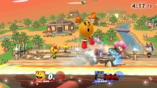 Slentay (Pac-Man) vs. DGLVG (Lucario)