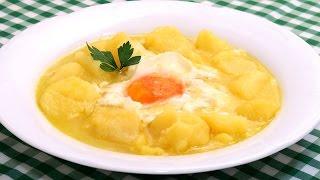 Patatas a lo Pobre   Receta Económica Fácil y Deliciosa!