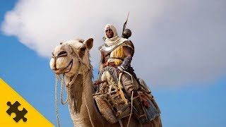 Assassin's Creed: Origins - Верблюд, ТАЙНЫЙ ОРДЕН ДРЕВНИХ, смотрим город МЕМФИС
