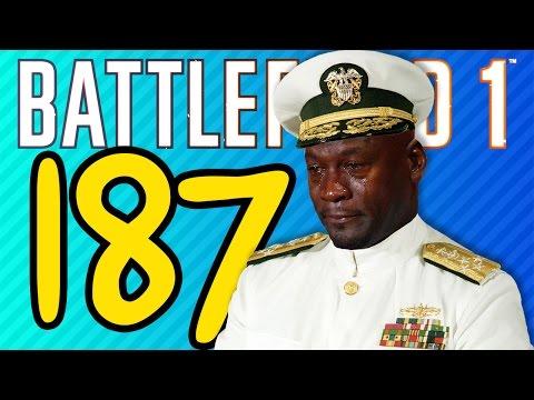 watch 187 KILL DREADNOUGHT MASSACRE | Battlefield 1