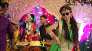 Kala chasma & Asona dance of Medha & Faisal in Sumu's Holud by Dream Weaver