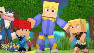 Minecraft: Pokemon X Y - FILHO DO ASH E BONNIE JUNTOS NISSO! #32