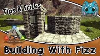 ARK: Tips & Tricks Building w/ Fizz :: How to build Bay/Small Windows
