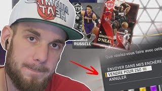 JE VEND MA LÉGENDE 250 MT ..  😳 NBA 2K18 MON ÉQUIPE