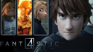 FANTASTIC FOUR (2015)  - Animated CGI Trailer HD