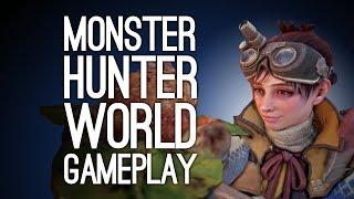 Monster Hunter World Gameplay: HUNTING THE ANJANATH! - Let's Play Monster Hunter World