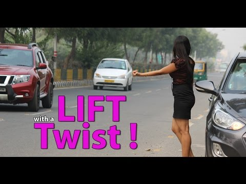 A Girl Asks For Lift  - Twist In Tale PRANK