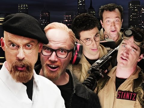 Ghostbusters vs Mythbusters. Epic Rap Battles of History Season 4.
