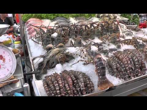 Hua Hin Thailand Night Market January