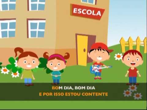 Bom dia vou p ra escola Jardim de Infância 6