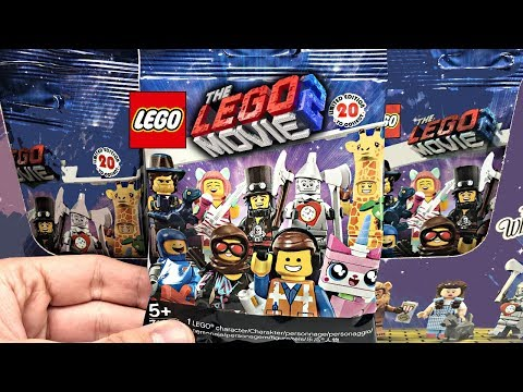 The LEGO Movie 2 Minifigures 60 pack BOX opening