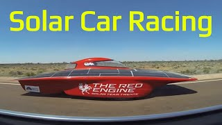Solar car documentary about the Stanford Solar Car Project, HD Documentary about solar electric car