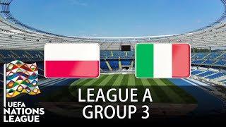 Poland vs Italy - 2018-19 UEFA Nations League - PES 2019