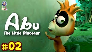 Abu The Little Dinosaur Ep 2 | Dispute! The Mysterious Giant Egg | Animals Cartoons For Kids