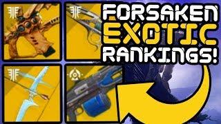 Destiny 2 - Ranking All 43 Exotic Weapons!! (Forsaken)