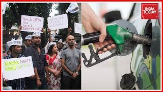 AAP Workers Protest Over Fuel Price Hike