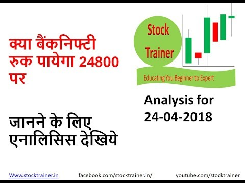 #24APR Live Banknifty trading analysis for 24APR 2018 II BankNifty overview II BankNIFTY ANALYSIS