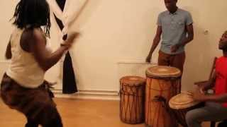 African dance with drums Twerk By Jungle fever® dance