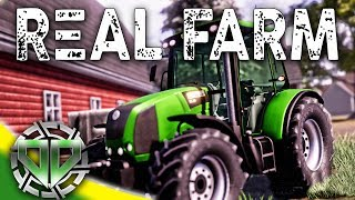 Real Farm Gameplay : Career Mode Farming!  Cultivating, Seeding, & Harvesting! (PC Let's Play)