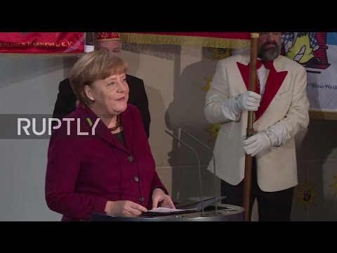 Germany: 'It takes wits to convince people with facts' - Merkel appears to send Trump a message