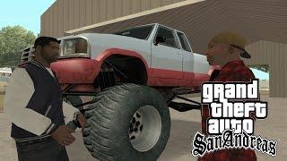 GTA San Andreas - Explodindo um Laboratório e o MONSTER TRUCK! - Parte #36