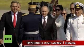 PREŞEDINTELE RUSIEI AMENINŢĂ ROMÂNIA