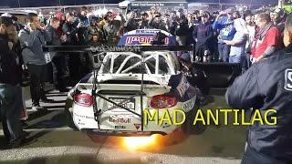 Mad Mike shoots flames at SEMA!