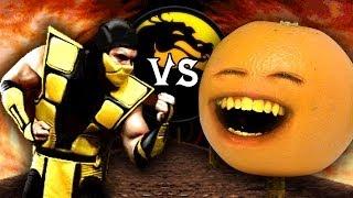 A Laranja Irritante VS. Mortal Kombat