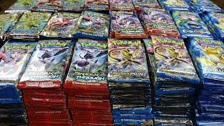 Opening 1,000 Pokemon Booster Packs