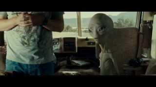 Paul (the alien) 'mindmeld' montage clip