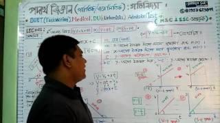 BUET Medical DU Physics  gotibidda graph- bangla tutorial - lec-01| For Admission & HSC -SSC