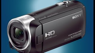 SONY HDR-CX405 HD - Quick Review and Field Test