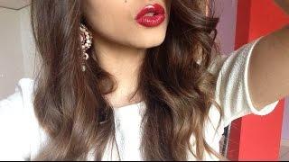 ASMR Mac lipsticks application // mouth sounds - close up kissing ♡