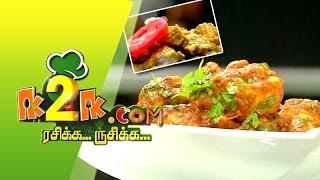 Hariyali Chicken & Konkani Chicken in K2K.com Rasikka Rusikka (28/05/2015)