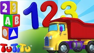 TuTiTu Preschool | Learning Numbers for Babies and Toddlers | Truck