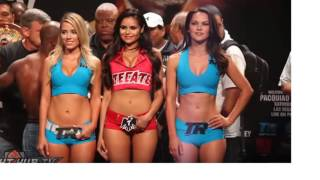 Manny Pacquiao vs.Tim Bradley 3 COMPLETE Weigh 2016