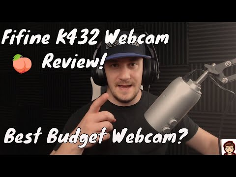 Fifine K432 Portable HD Webcam Review The Best Budget Webcam for Streaming 2020