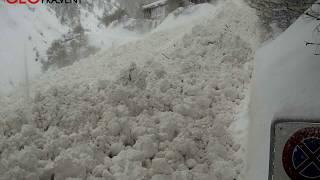 Large avalanche 4 January 2018 Zermatt