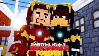 JACK AND IRON MAN ARE BEST FRIENDS AGAIN - Minecraft Adventure