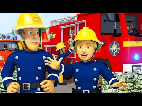 Sam a tűzoltó A mama segítsége A legjobb mentési kalandok összeállítás Sam a tűzoltó Mese