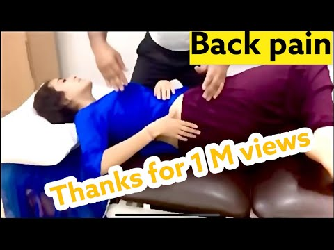 Xxx Mp4 Back Pain Spine Adjustment In Delhi By DrAsif 3gp Sex