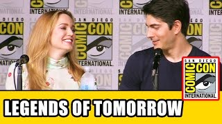 LEGENDS OF TOMORROW Season 2 Comic Con Panel (Part 1) - Caity Lotz, Brandon Routh, Dominic Purcell