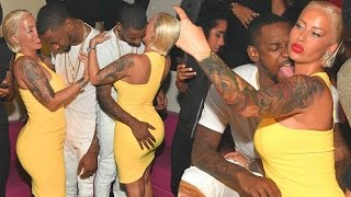 Amber Rose Hot PDA With Boyfriend Terrence Ross !!