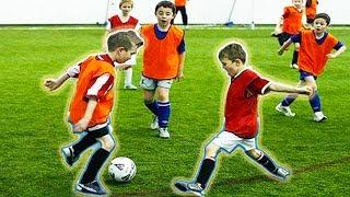 FUNNY KIDS IN FOOTBALL ● FAILS, SKILLS, GOALS #1