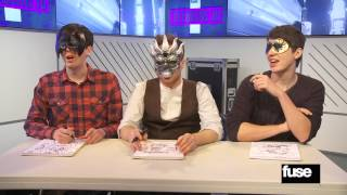 Dan & Phil Challenge Olly Murs to an Extreme Blindfolded Drawing Battle