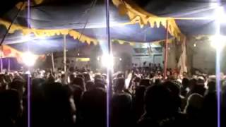 Footage from a recent convention in Balochistan