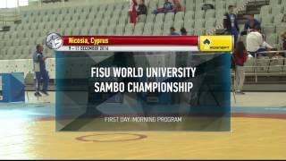 WORLD UNIVERSITY SAMBO CHAMPIONSHIPS 2016 1-2